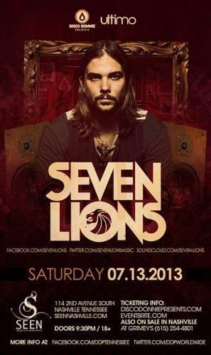 Seven Lions @ SEEN