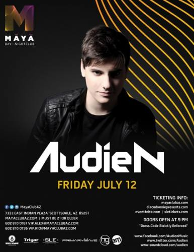 Audien @ Maya Day and Nightclub