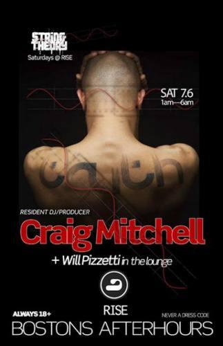 Craig Mitchell @ RISE