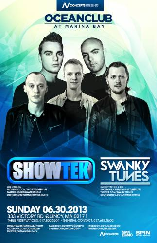 Showtek & Swanky Tunes @ Ocean Club