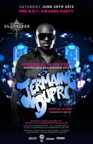 Friends With Benefits & Playhouse Present: Pre-B.E.T. Awards Party feat Jermaine Dupri