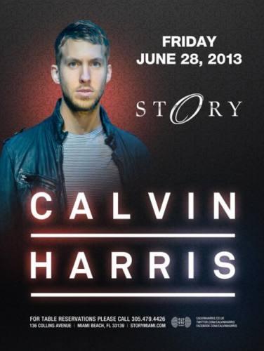 Calvin Harris @ STORY Miami (06-28-2013)