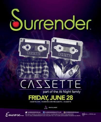 Cazzette @ Surrender Nightclub (06-28-2013)