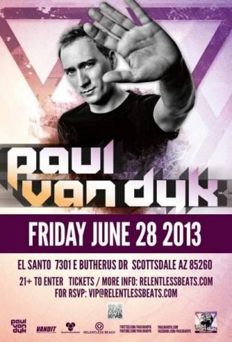 Paul van Dyk @ El Santo Cantina