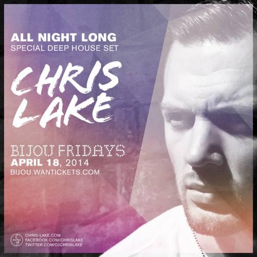Chris Lake @ Bijou Nightclub