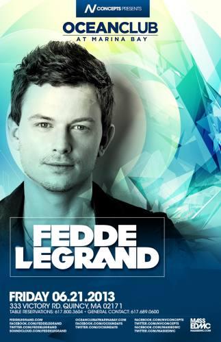 Fedde Le Grand @ Ocean Club
