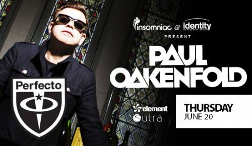 Element with Paul Oakenfold