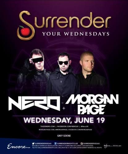 Nero & Morgan Page @ Surrender Nightclub