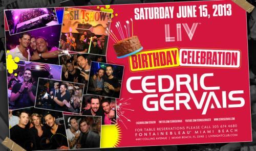 Cedric Gervais @ LIV Nightclub