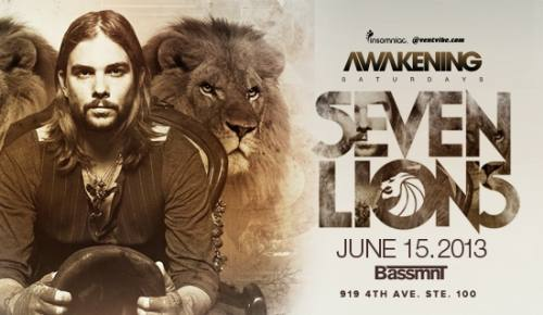 Awakening San Diego with Seven Lions at Bassmnt