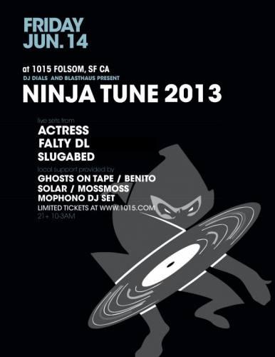 Ninja Tune 2013