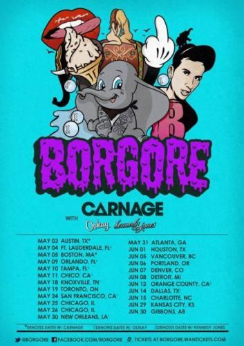 Borgore @ Ten Nightclub (06-12-2013)