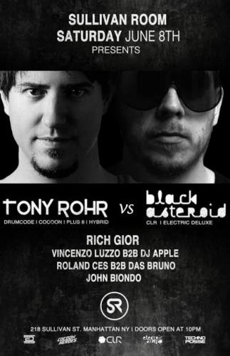 Tony Rohr vs Black Asteroid