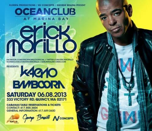 Erick Morillo @ Ocean Club (06-08-2013)