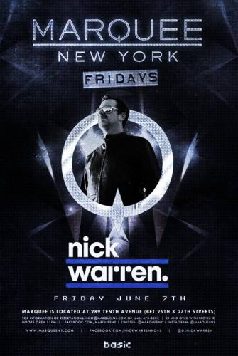 Nick Warren @ Marquee NYC