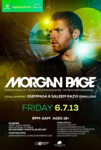 Morgan Page @ Club Rio (06-07-2013)