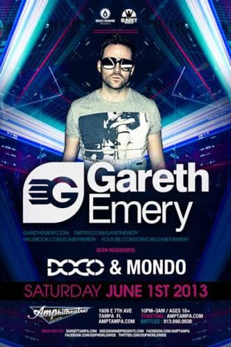 Gareth Emery @ Amphitheatre Event Facility (06-01-2013)