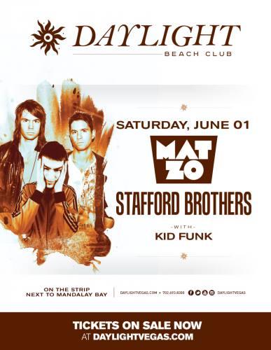 Mat Zo w/ Stafford Brothers @ Daylight Beach Club