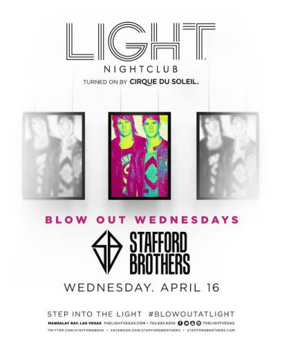 Stafford Brothers @ Light Nightclub (04-16-2014)
