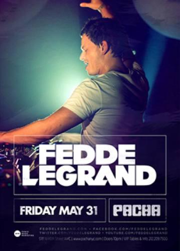 Fedde Le Grand @ Pacha NYC