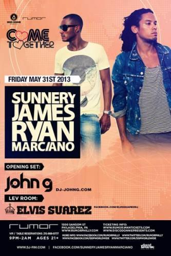 Sunnery James & Ryan Marciano @ Rumor (05-31-2013)