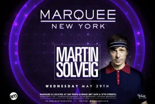 Martin Solveig @ Marquee New York