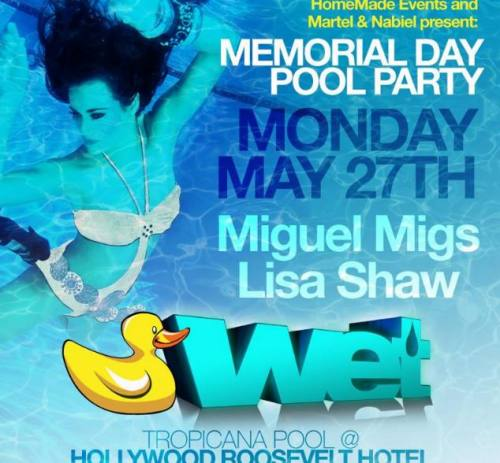 Miguel Migs @ Hollywood Roosevelt Hotel