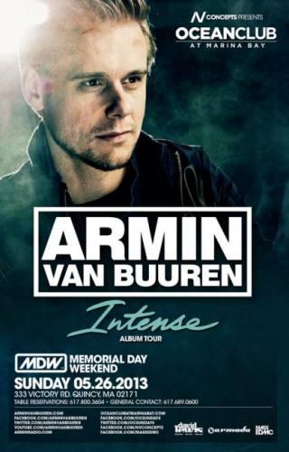 Armin van Buuren @ Ocean Club