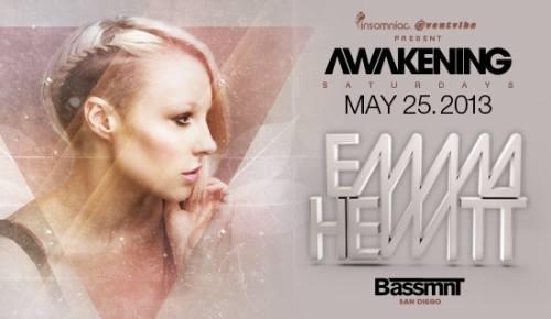 Awakening San Diego with Emma Hewitt at Bassmnt