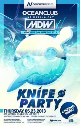 Knife Party @ Ocean Club