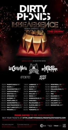 Dirtyphonics w/ Crizzly & ETC! ETC! @ Coliseum Tallahassee