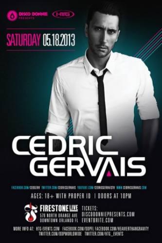 Cedric Gervais @ Firestone Live