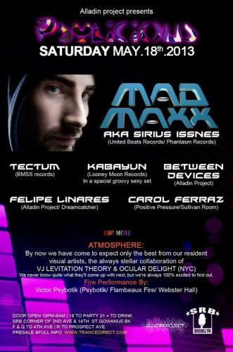 [May 18 NYC] * Alladin Project Presents* MAD MAXX*