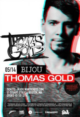 Thomas Gold @ Bijou Nightclub