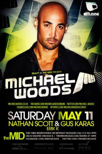 5.11 Michael Woods w/ Nathan Scott at The Mid