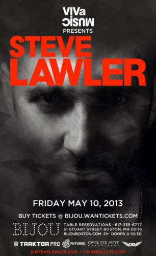 Steve Lawler @ Bijou Nightclub