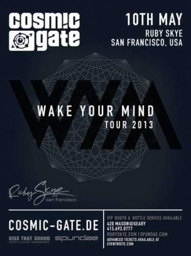 Cosmic Gate @ Ruby Skye (05-10-2013)