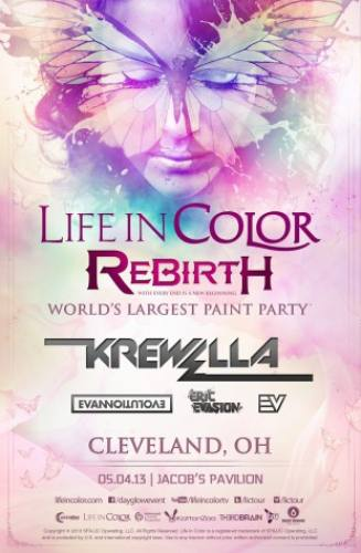 Life in Color w/ Krewella @ Jacobs Pavilion