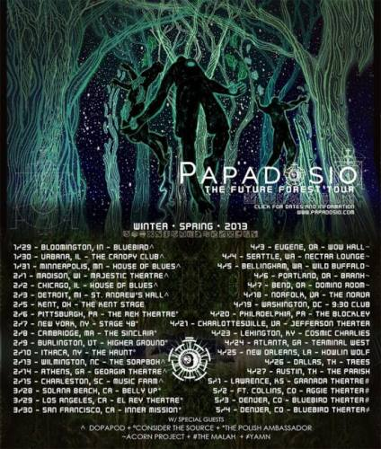 Papadosio @ Bluebird Theater (2 Nights)