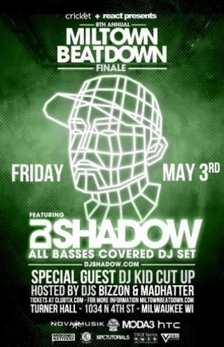 DJ Shadow @ Turner Hall Ballroom