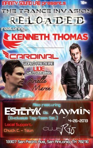 Kenneth Thomas @ Club Rio