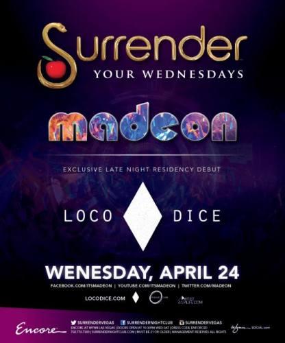 Madeon & Loco Dice @ Surrender Nightclub