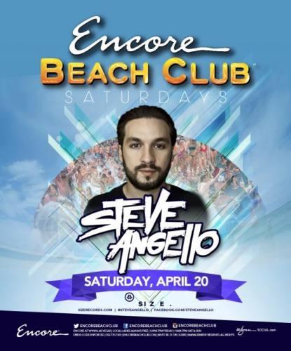 Steve Angello @ Encore Beach Club (04-20-2013)