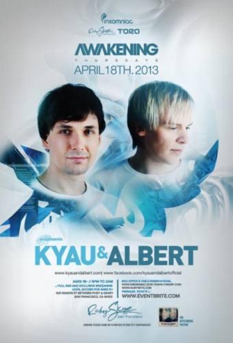Kyau & Albert @ Ruby Skye (04-18-2013)