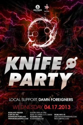 Knife Party @ Roseland Theater