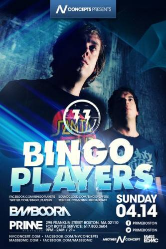 Bingo Players @ PRIME (04-14-2013)