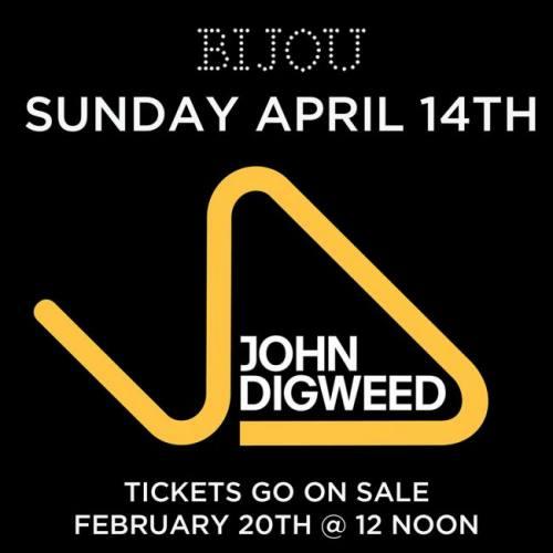 John Digweed @ Bijou Nightclub