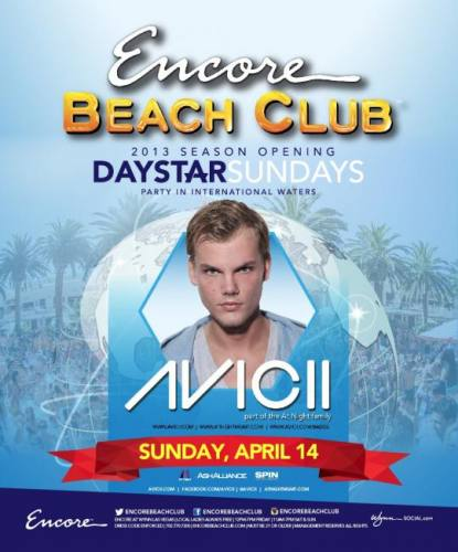 Avicii @ Encore Beach Club