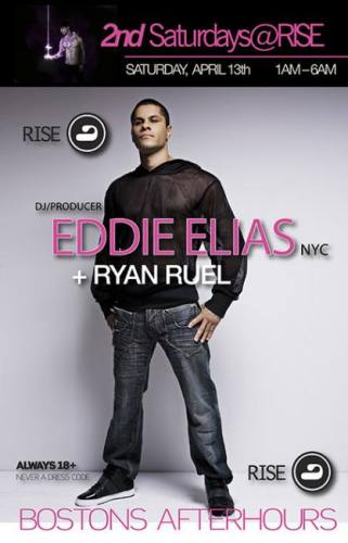 2nd Sat: Eddie Elias @ RISE