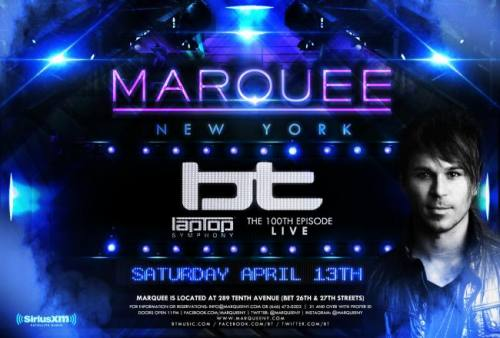 BT @ Marquee New York